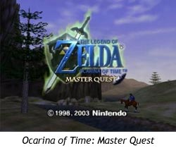 Zelda Ocarina of Time - Master Quest