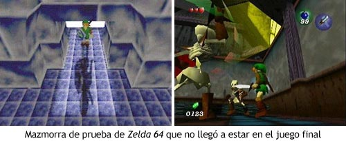 Zelda Ocarina of Time - Mazmorra de prueba