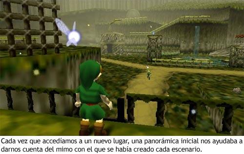 Zelda Ocarina of Time - Panorámica de Kokiri Forest