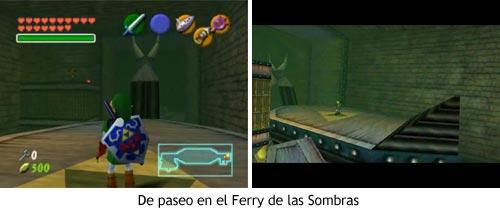 Zelda Ocarina of Time - Paseo en barco