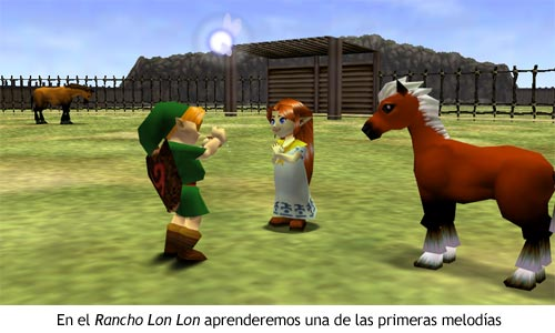 Zelda Ocarina of Time - Rancho Lon Lon