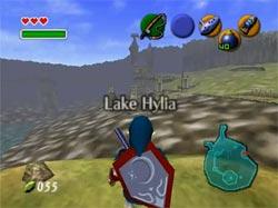 Zelda Ocarina of Time - Robar la caña de pescar