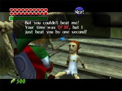 Zelda Ocarina of Time - Running Man