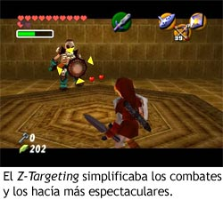 Zelda Ocarina of Time - Z-Targeting