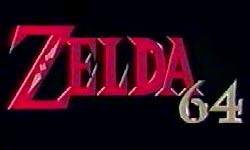 Zelda Ocarina of Time - Logotipo provisional de Zelda 64