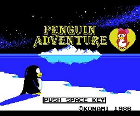 Penguin Adventure - Inicio