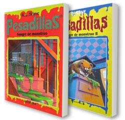 Pesadillas - Serie de libros de R.L. Stine