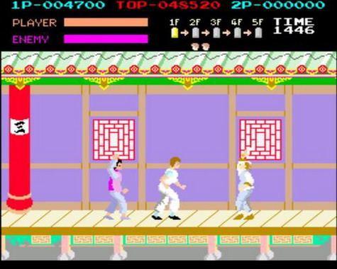 Kung-Fu Master - Cuchillos