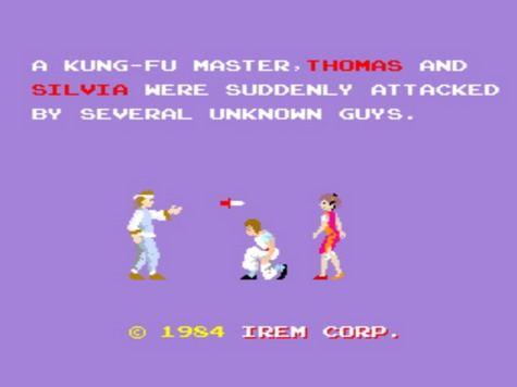 Kung-Fu Master - Intro
