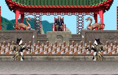 Mortal Kombat - Templo Shaolin