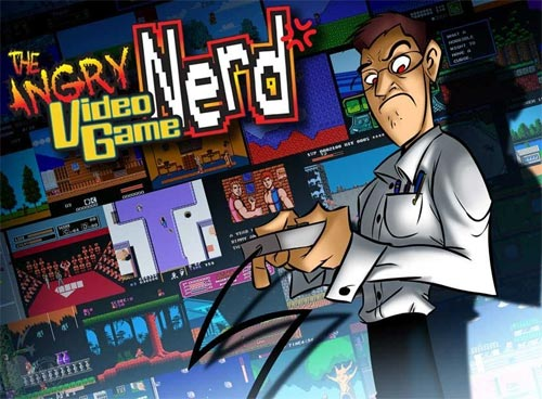 The Angry Video Game Nerd - Ilustración