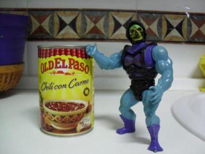 Cocinando con Skeletor - Chili - Chili Old el Paso