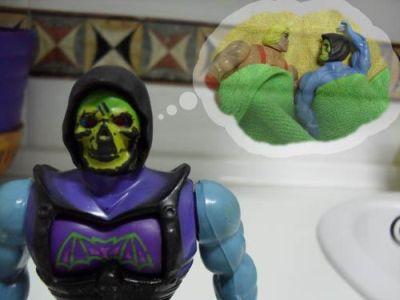 Cocinando con Skeletor - Chili - Skeletor fantaseando