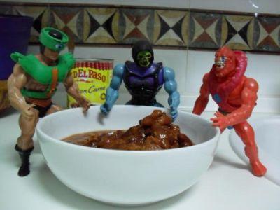 Cocinando con Skeletor - Chili - Chili sin calentar