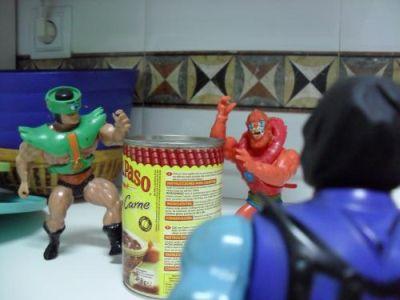 Cocinando con Skeletor - Chili - Llegan Tri-Klops y Beastman