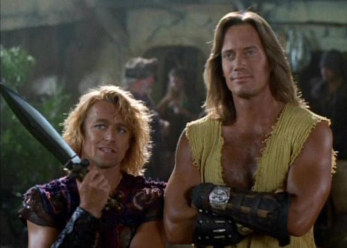 Hércules conoce a Xena - Iolaus y Hércules