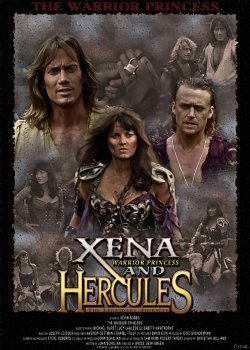 Hércules conoce a Xena - Portada