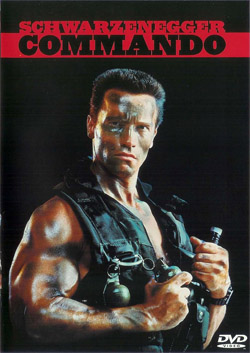 Commando - Carátula