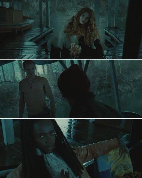 Crepúsculo - Vampiros malos