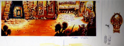 Monkey Island 2 Special Edition - Arte conceptual
