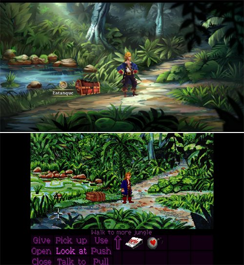 Monkey Island 2 Special Edition - Comparativa de modos