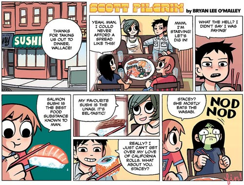 Scott Pilgrim - Cómic