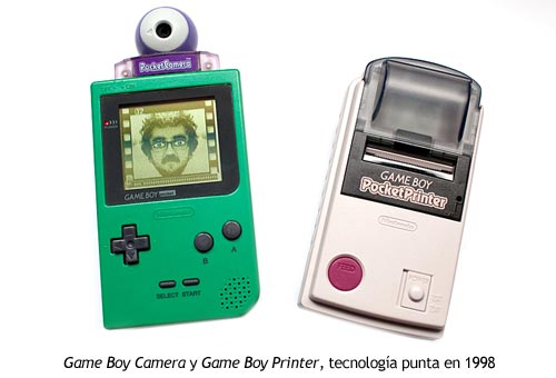 Game Boy Camera y Game Boy Printer