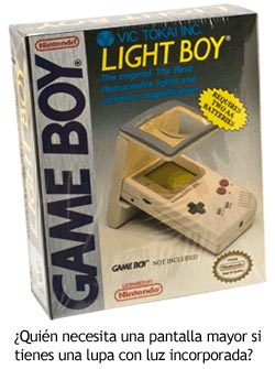 Accesorios Game Boy - Light Boy