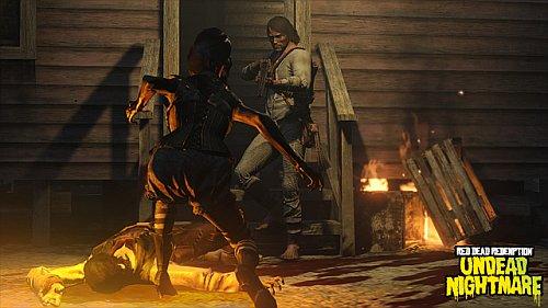 Red Dead Redemption - Undead Nightmare - John Marston vs. Zombis