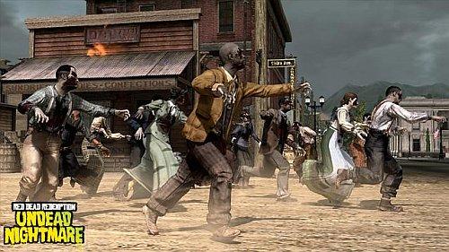 Red Dead Redemption - Undead Nightmare - Zombis corriendo