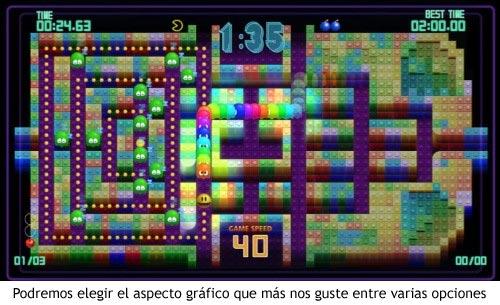 Pac-man CE DX - Gráficos a elegir