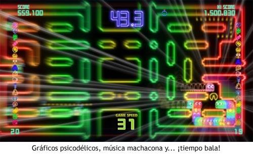 Pac-man CE DX - Tiempo Bala