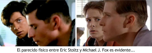 Regreso al Futuro - Eric Stoltz vs. Michael J. Fox