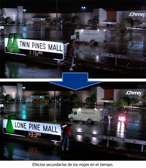 Regreso al Futuro - Twin Pines y Lone Pine Mall