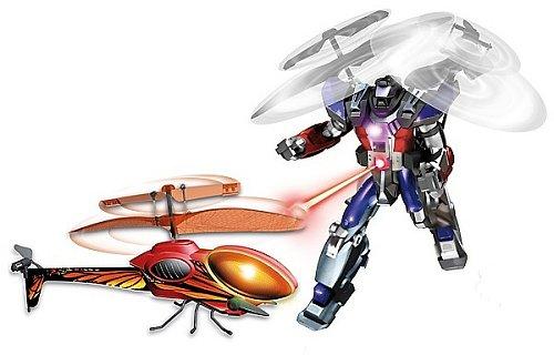 Catálogo de juguetes de El Corte Inglés 2010 - Robocopter vs. Insecta Tech
