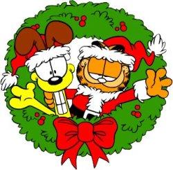 Especial de Navidad de Garfield - Portada