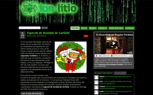 ion litio - Matrix
