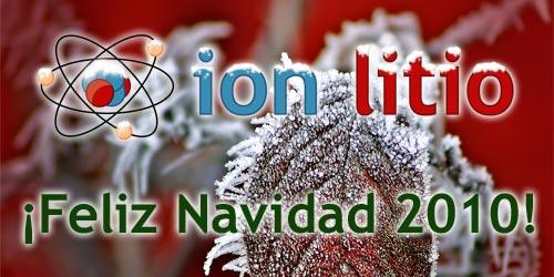 ion litio - Feliz Navidad 2010
