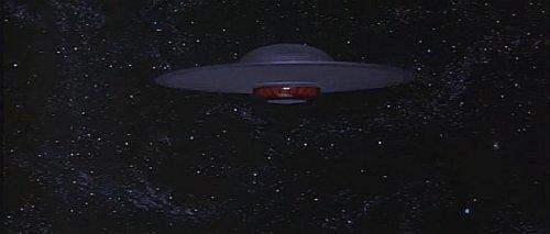 Planeta prohibido - Platillo volante