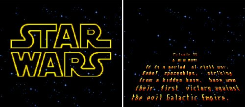 Super Star Wars - Opening crawl