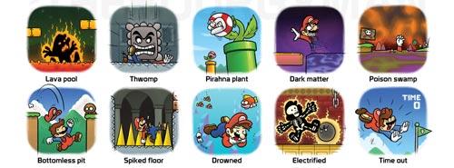 Mario Bros -  Formas de morir