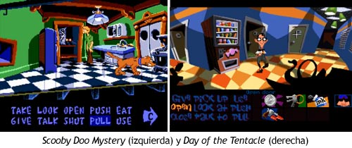 Scooby Doo Mystery vs Day of the Tentacle