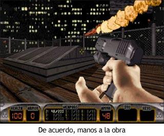 Duke Nukem 3D - Comienzo