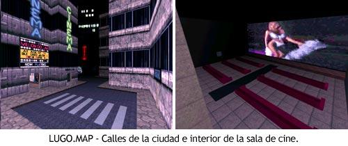 Duke Nukem 3D - LUGO.MAP - Calles y cine