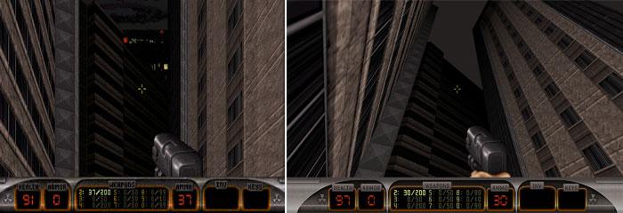 Duke Nukem 3D - Mirar hacia arriba