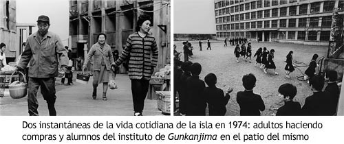 Gunkanjima - Vida cotidiana