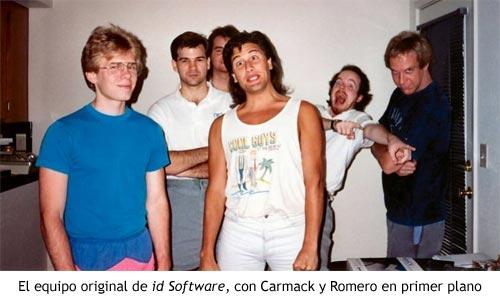El equipo original de id Software