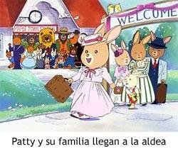 La Aldea del Arce - Patty y su familia llegan a la aldea
