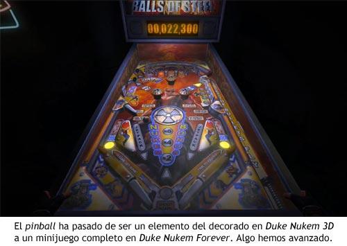 Duke Nukem Forever - Pinball