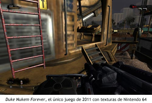 Duke Nukem Forever - Texturas de Nintendo 64